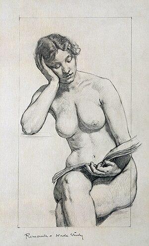 Kenyon Cox, Nude study, 1896, Kenyon Cox was a...
