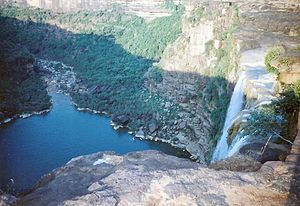Rewa district - The Keoti Fall in Rewa Madhya Pradesh