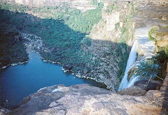 Rewa district - The Keoti Fall in Rewa Madhya Pradesh