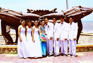 A wedding in Kep