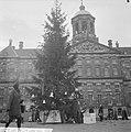 Kerstboom op de Dam door het Leger des Heils geplaatst, Bestanddeelnr 915-8450.jpg