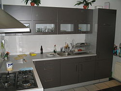 An example of a Japanese Kitchen