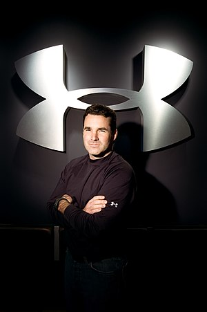 Under Armour - Kevin Plank, founder of Under Armour