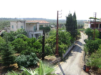 Kfarshakhna - Centre