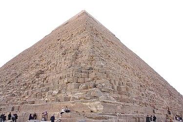 Khafre's Pyramid 2010 closeup.jpg