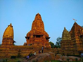Khajuraho Group of Monuments group of Hindu and Jain temples in Khajuraho, Madhya Pradesh, India