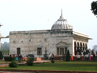 Khas Mahal (Red Fort) - The Khas Mahal in the Red Fort