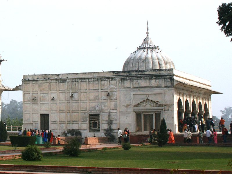 Khas Mahal in Red Fort, Delhi
