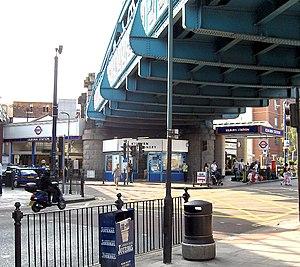 Kilburn tube station - Image: Kilburn 1