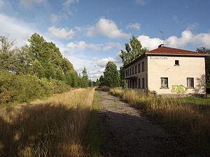 Kilingi-Nõmme - Image: Kilingi Nõmme raudteejaam