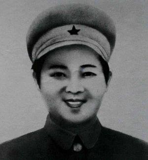 Kim Jong-suk - Kim Jong-suk in her youth