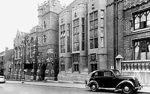 King Edward VI College, Stourbridge - College building c.1950