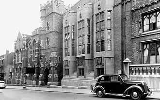 King Edward VI College, Stourbridge - College building c.1950