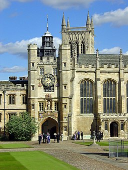 King Edward's Gate, Trinity College, Cambridge - geograph.org.uk - 1057067