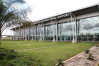 King Mswati III International Airport - Image: King Mswati III International Airport Terminal