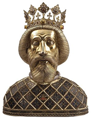 History of Christianity in Hungary - Reliquiary of Ladislaus I who was canonized in 1192
