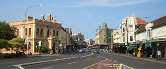 Newtown, New South Wales - Image: King Street Newtown