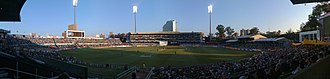 Kingsmead Cricket Ground - Image: Kingsmead Panorama
