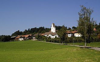 Thundorf, Switzerland - Image: Kirchberg Thundorf I