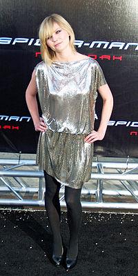 Kirsten Dunst na pré estréia de Homem Aranha 3 em Los Angeles