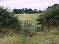 Kissing gate near Charlton all Saints - geograph.org.uk - 871620.jpg