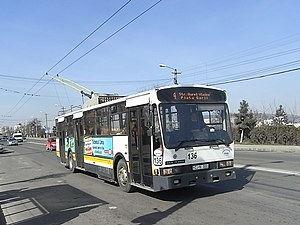 De Simon - Rocar De Simon trolleybus in Cluj Napoca
