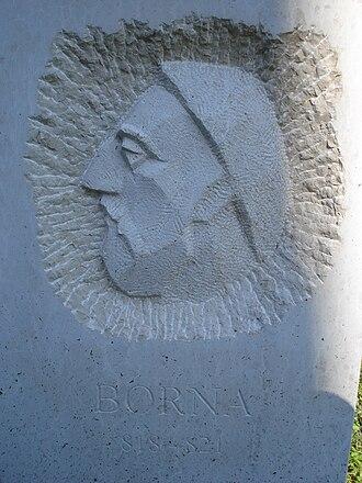 Borna (duke) - Monument to Borna in Otočac