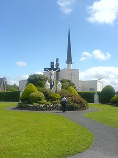 Knock Shrine Church in County Mayo, Republic of Ireland