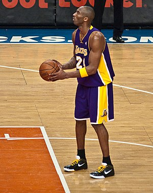 Highest-paid NBA players by season - Kobe Bryant, who spent his entire 20-year career in a Los Angeles Lakers uniform, was the highest-paid player in the league from the 2009–10 until his retirement at the conclusion of the 2015–16 season.