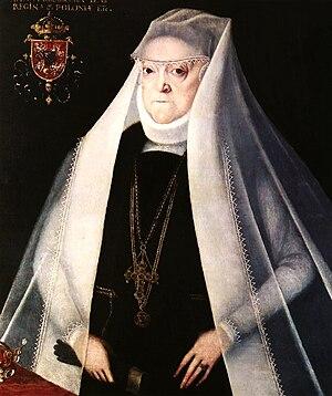 Anna Jagiellon - Anna Jagiellon as a widow by Marcin Kober