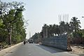 Kolkata Metro-Railway - Airport-New Garia Line Under Construction - Salt Lake Bypass - Kolkata 2013-04-10 7718.JPG
