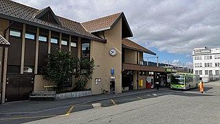 Konolfingen railway station railway station in Switzerland