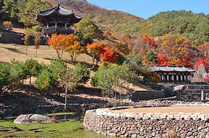 Korean shamanism - Grounds of the Samseonggung, a shrine for the worship of Hwanin, Hwanung, and Dangun.