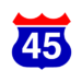 Korean highway line 45