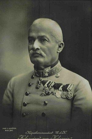 Dezső Kolossváry - Image: Korpskommandant G. d. K. Kolosváry von Kolosvár (E. Schöfer) on 7629 0a