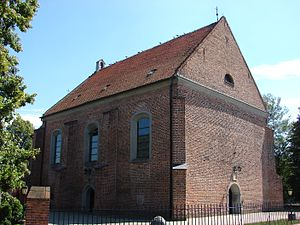 Kostrzyn - Church of Saints Peter and Paul, first half of the 16th century.