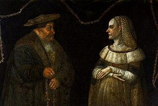 Portrait of Katarzyna and Grzegorz Przybyła.