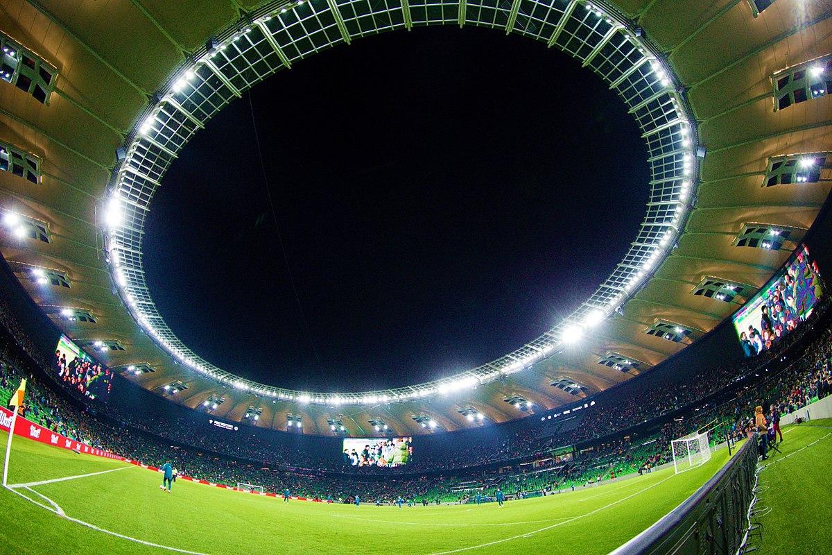 схема расположения мест стадион фишт