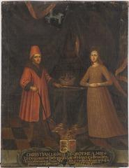 Kristian I, 1426-1481, kung av Danmark, Norge och Sverige och Dorotea, 1430-1496, drottning av Sverige, Norge och Danmark