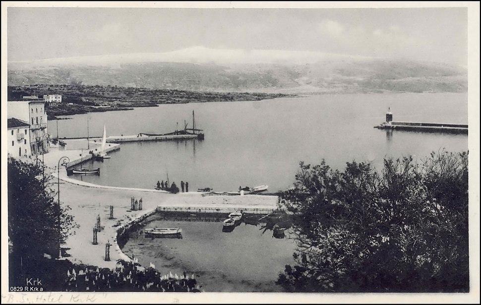 Krk 1935. godine