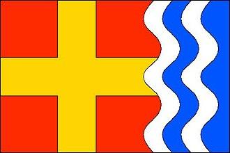 Kružberk - Image: Kružberk flag