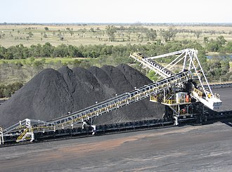 Coal preparation plant - Coal stacker
