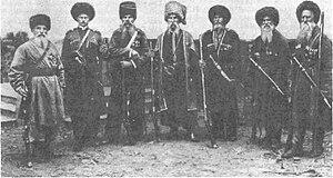 Kuban Cossacks - Late 19th century