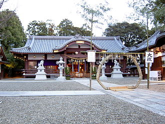 Japanese clans - Kudara shrine of the Kudara no Konikishi clan