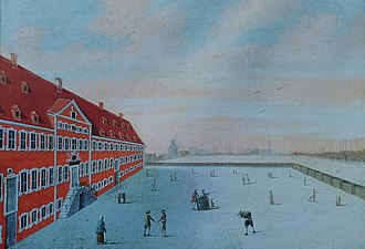 Søkvæsthuset - Kvæsthuset in c, 1750