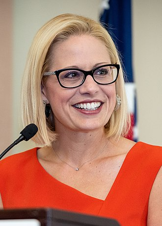 United States congressional delegations from Arizona - Senator Kyrsten Sinema (D)
