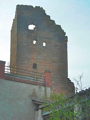 L'Albagés - Remains of castle of l'Albagés