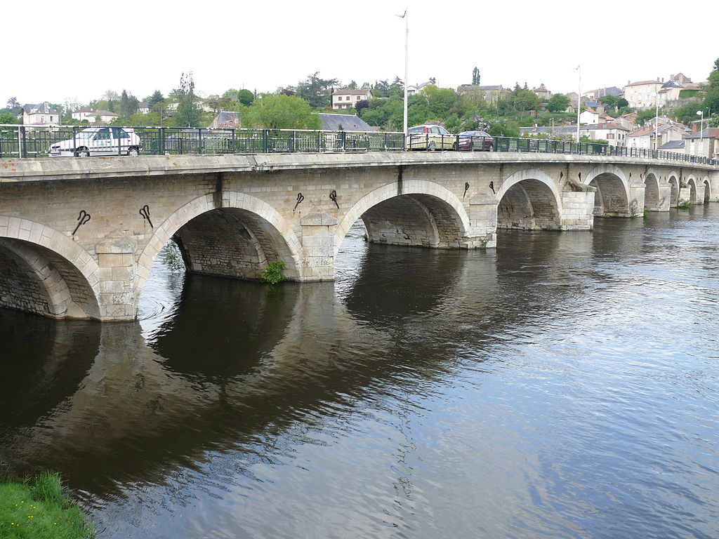L'Isle-Jourdain France  city pictures gallery : L'Isle Jourdain Pont Saint Sylvain 2 Wikimedia Commons
