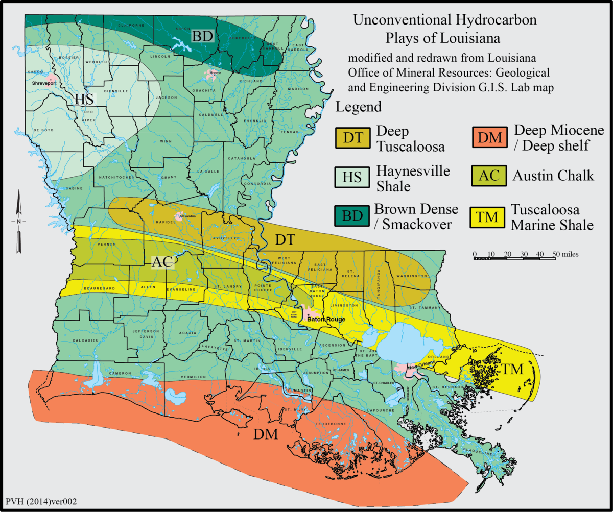 Haynesville Shale Wikipedia - Map of us shale plays