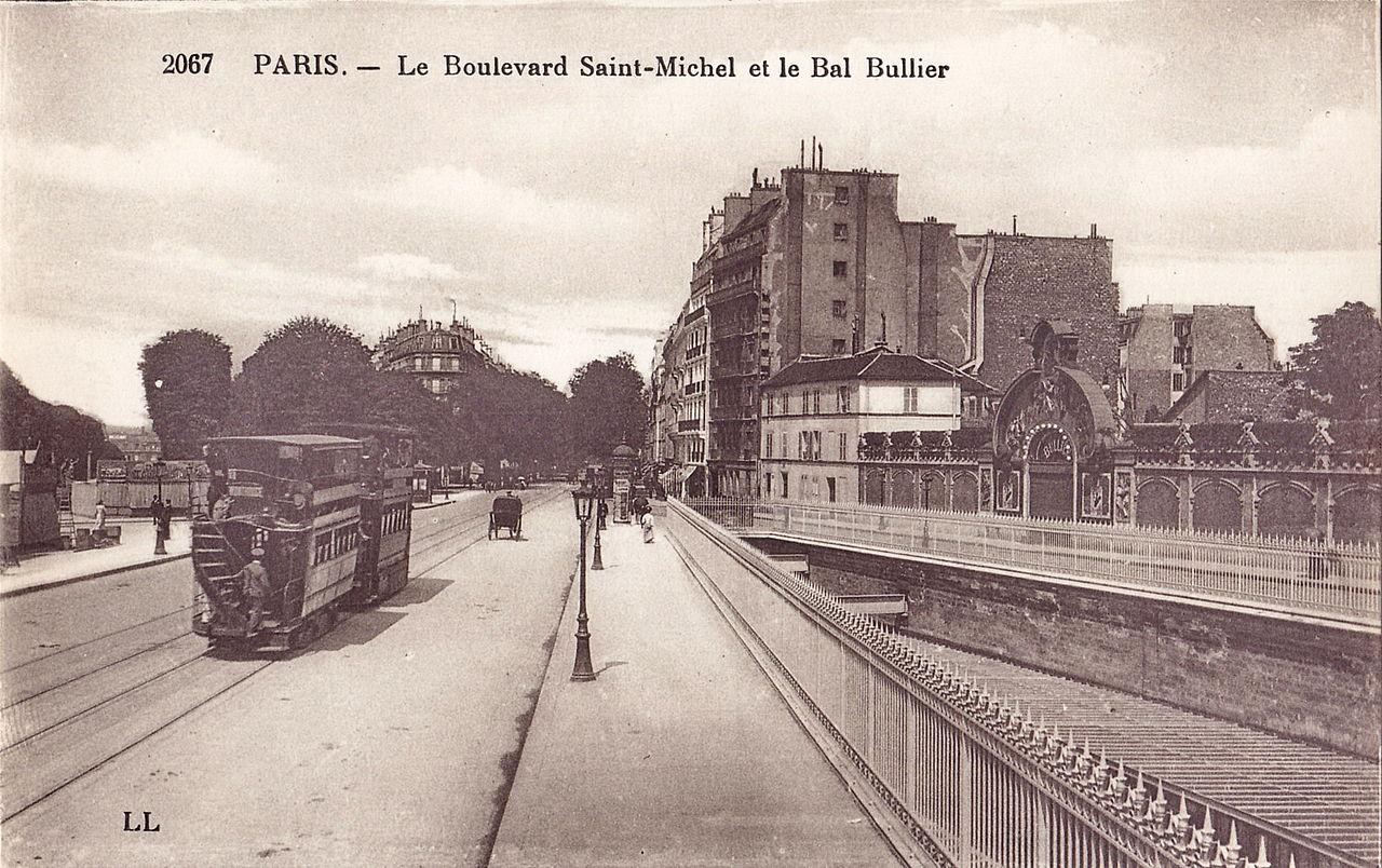 File ll 2067 paris le boulevard saint michel et le bal wikimedia commons - Boulevard du port royal paris ...